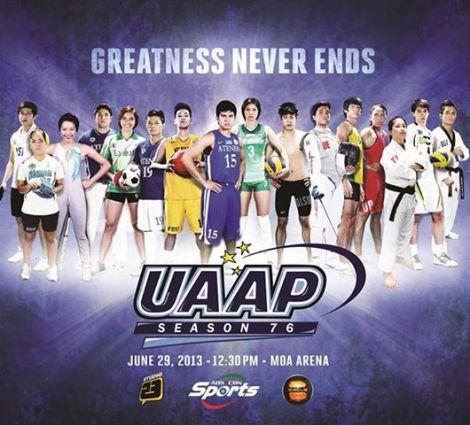 uaap volleyball source http themuralla com 2013 06 29 uaap season 76