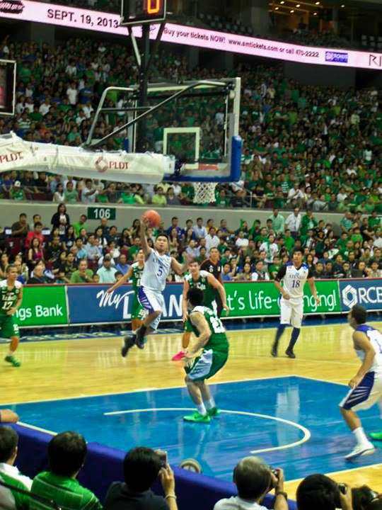 La Salle tips Ateneo to third-straight loss