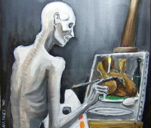 Starving Artist by S. Haines, 2010 | Photo from occultcorpus.com