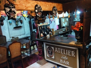 """Photo by Gian Franco. You can buy your favorite beverage at the Atelier Bar located within the dining area. (Hint: They will kindly replace your cold beer if you don't like its """"spirit"""".)"""