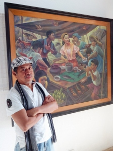 Photo by Gian Franco. We can say that Nemiranda indeed is the living sentinel of Angono art and a prospective national artist